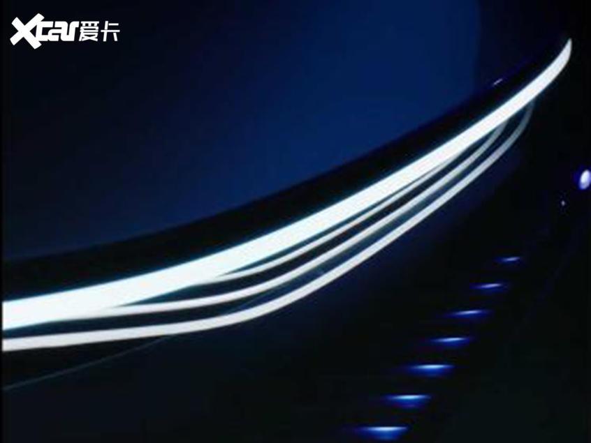 奔驰全新概念车预告图 将今年CES展发布