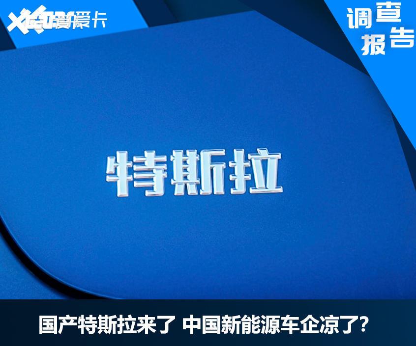 国产特斯拉来了 中国新能源车企凉了?