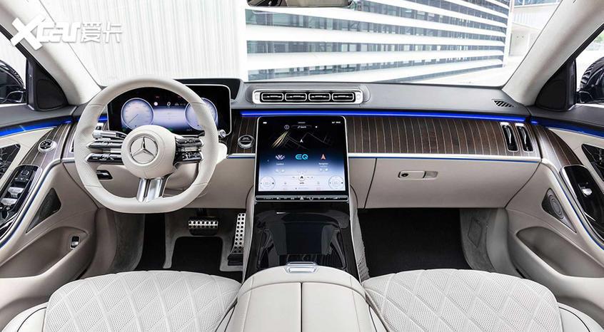 新一代奔驰S级插混版官图 纯电续航97km