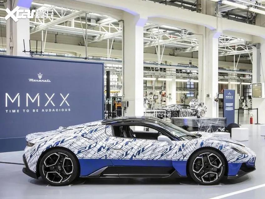 玛莎拉蒂电动车序列曝光 MC20将推EV版