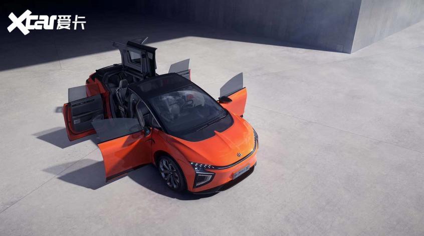 高合HiPhi X将北京车展上市科技感爆棚