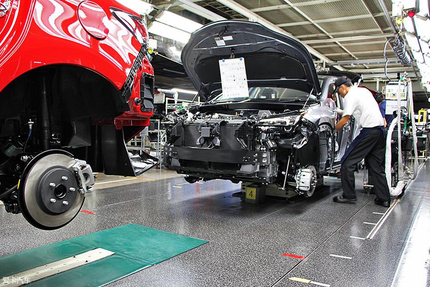 丰田关闭数家工厂