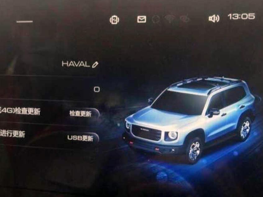 哈弗全新SUV