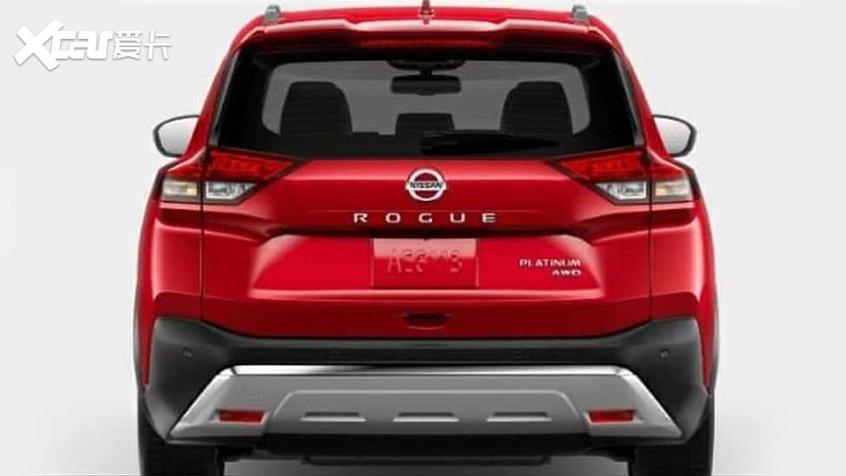 日产全新Rogue实车曝光 三季度海外上市