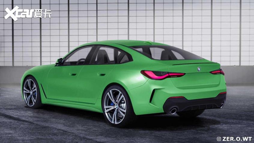 全新一代宝马4系Gran Coupe渲染图曝光
