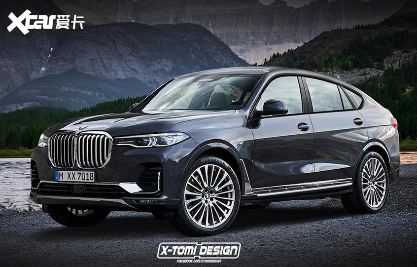 宝马X8 M有望2022年亮相 高性能轿跑SUV