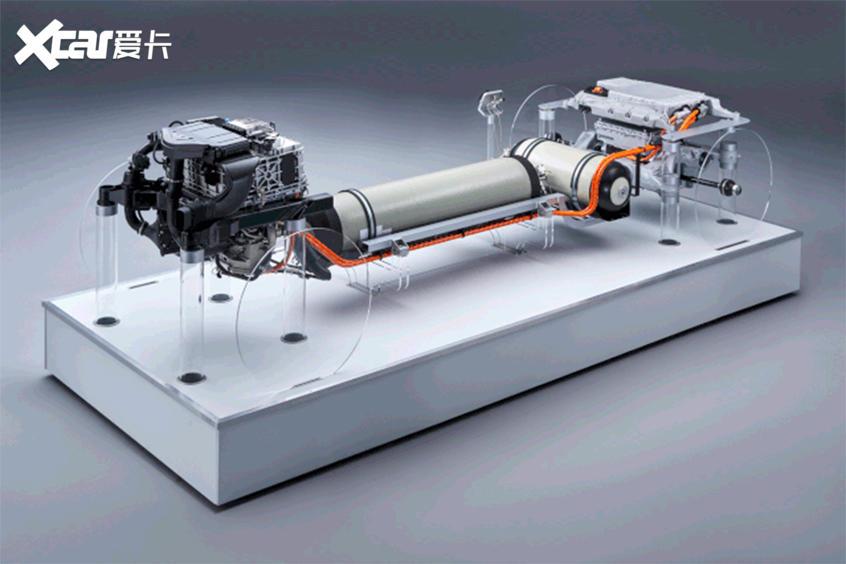 宝马氢燃料电池技术