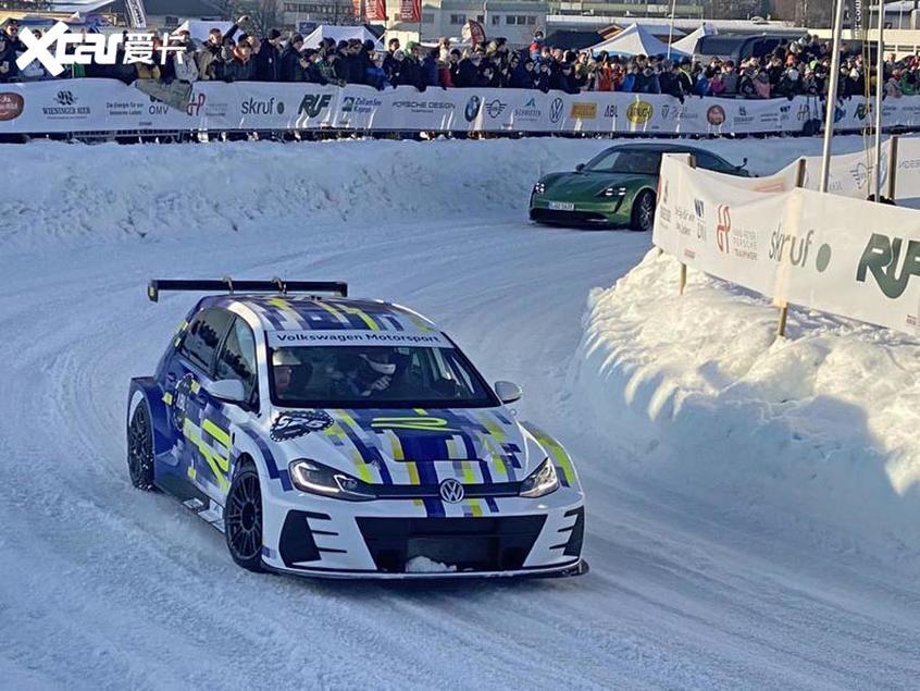 纯电动高尔夫R概念车亮相 主要应用赛事