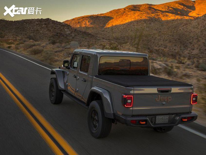 Jeep Gladiator Mojave特别版
