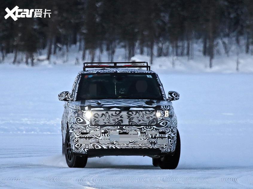 新一代路虎揽胜运动版谍照 或明年发布