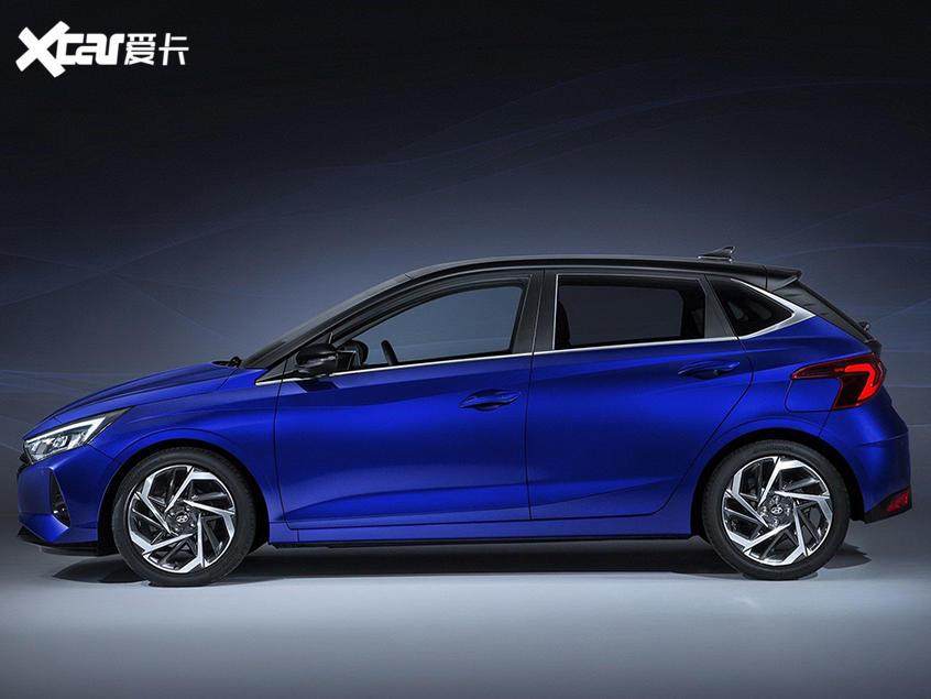 全新现代i20官图发布 将日内瓦车展亮相