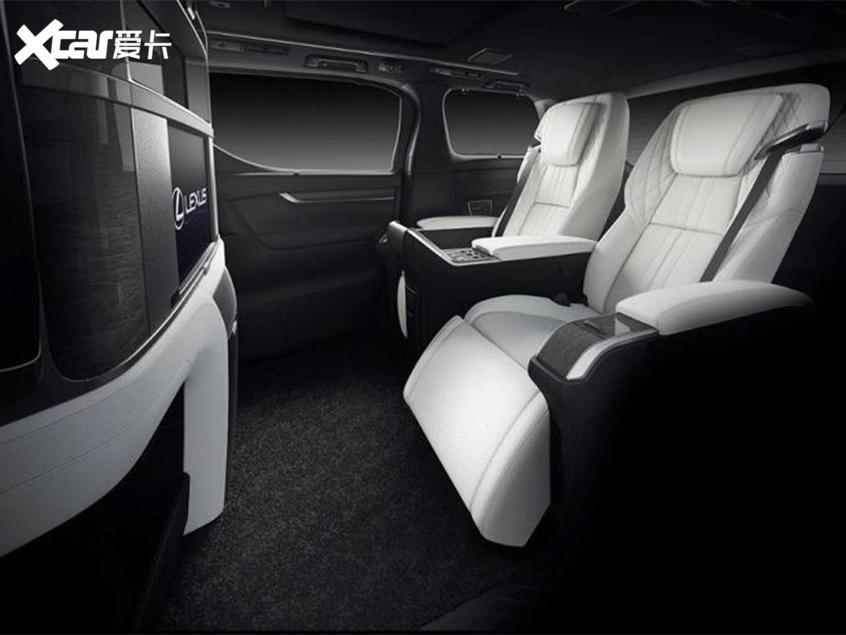 雷克萨斯LM上市 2款车型/售116.6万元起
