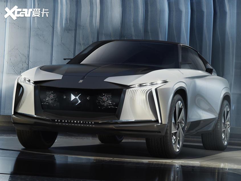 DS全新概念车官图发布配备多项黑科技
