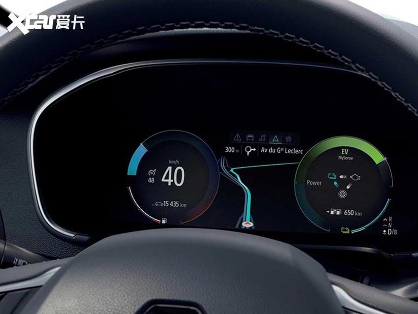 雷诺三款PHEV车型发布 动力系统是亮点