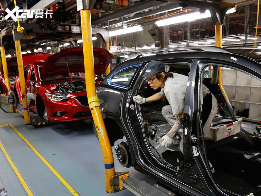 马自达日本、墨西哥及泰国工厂暂停生产