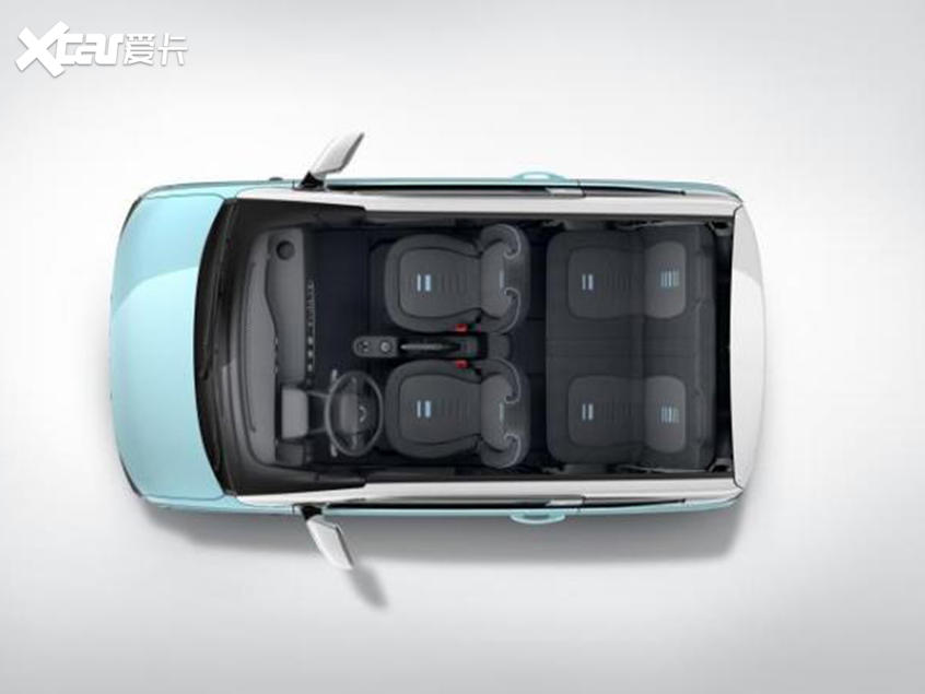 五菱全新纯电动微型车内饰官图 将年内上市
