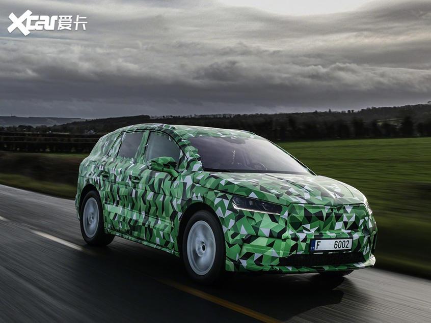 斯柯达首款纯电动SUV车型ENYAQ iV亮相