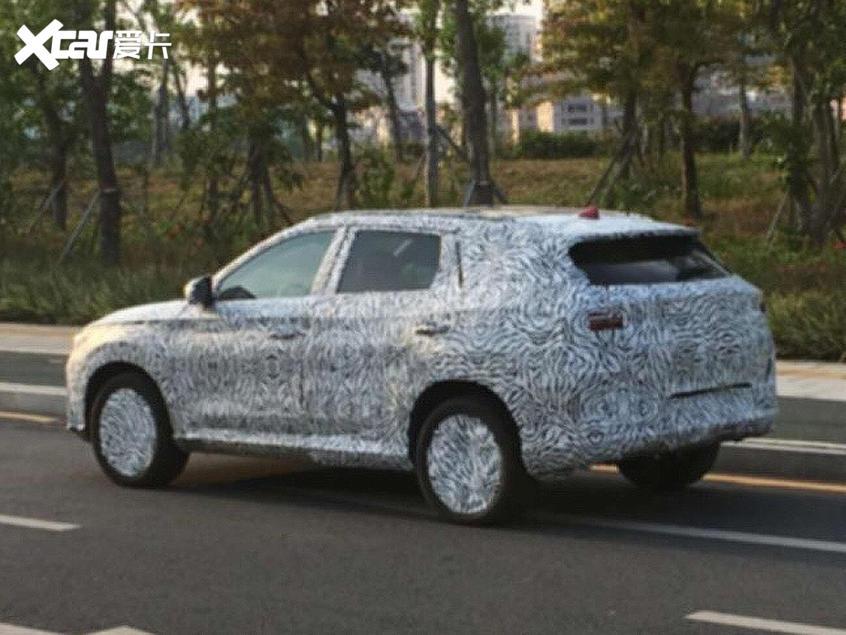比亚迪全新SUV谍照曝光 有望下半年上市