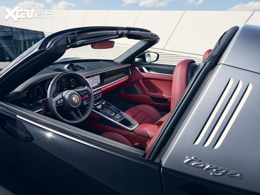 全新保时捷911 Targa