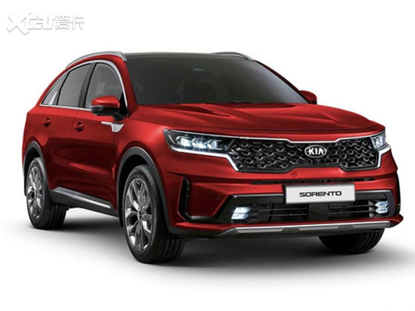 全新起亚索兰托Coupe渲染图3季度发布-爱卡汽车