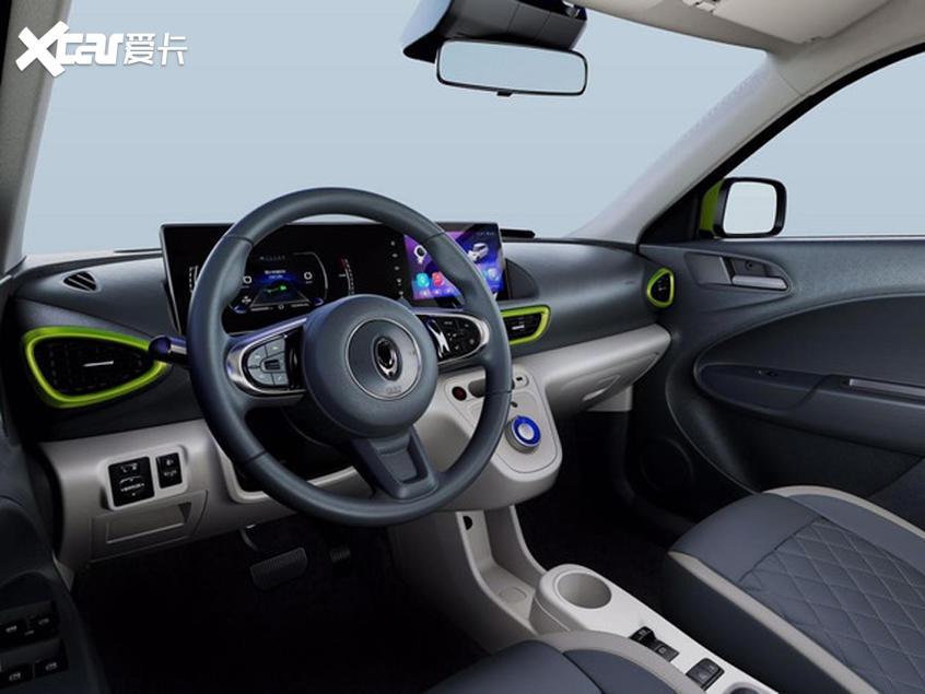 长城欧拉全新车型内饰官图