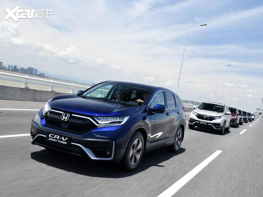 东风本田新款CR-V官图流入 7月中旬上市