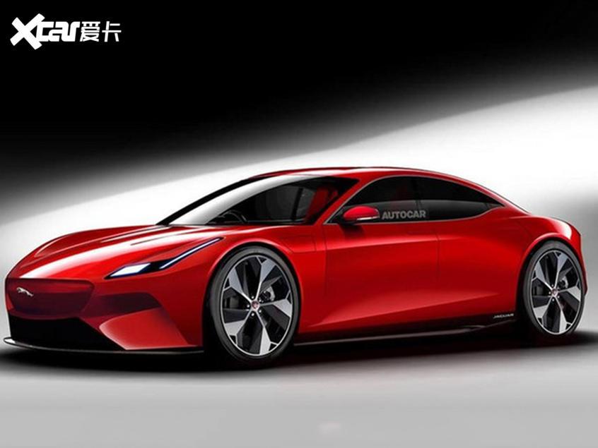 捷豹XF电动版效果图曝光或2021年亮相