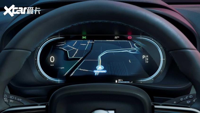沃尔沃C40 RECHARGE首发 纯电动轿跑SUV