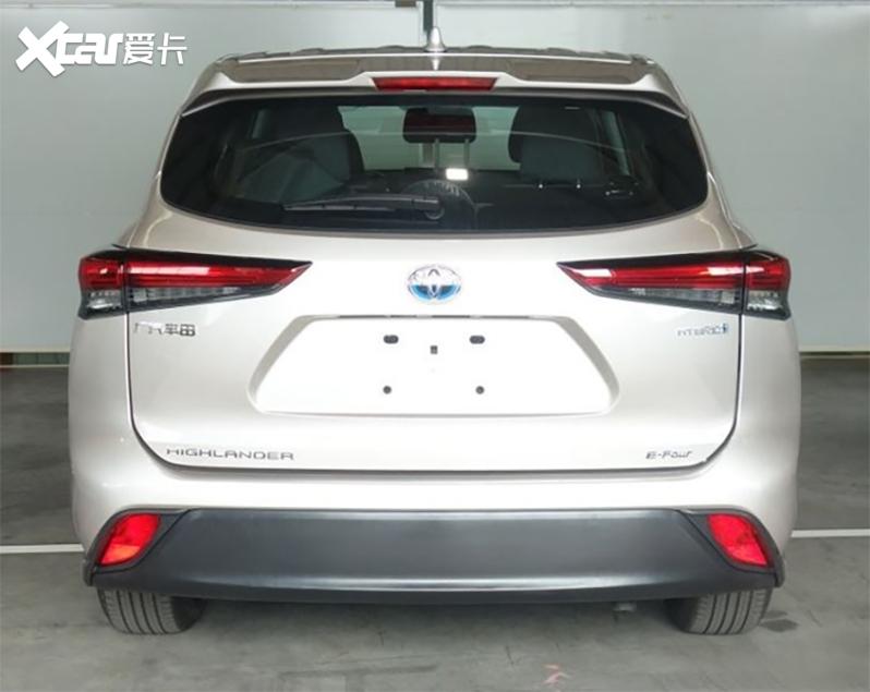 广汽丰田新一代汉兰达申报图 或9月上市