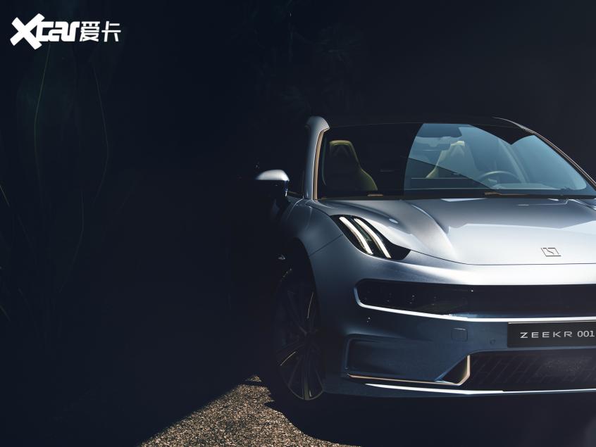 2021上海车展探馆:极氪001抢先曝光