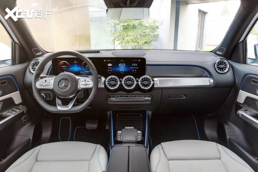 2021上海车展:奔驰EQB纯电SUV正式亮相