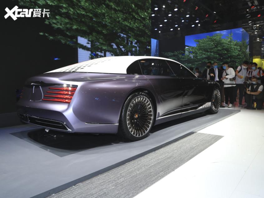 2021上海车展:红旗L-Concept正式亮相