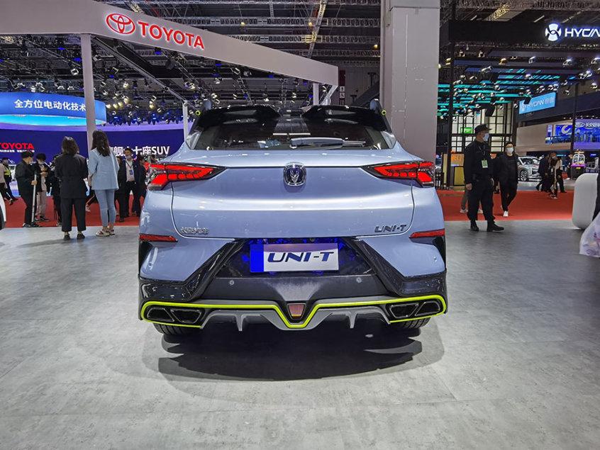 2021上海车展:长安UNI-T运动版正式亮相