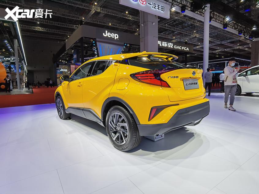 新款丰田C-HR双擎版消息 将5月28日上市