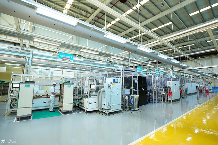 东风日产二工厂模块生产线