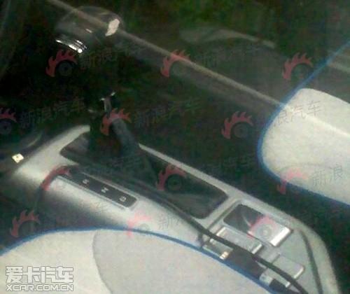 纯电动车型 曝荣威E1概念车量产版谍照高清图片