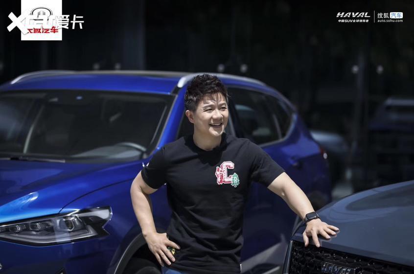 """体育名嘴韩乔生花样解读""""前浪后浪"""" 盛赞哈弗F7"""