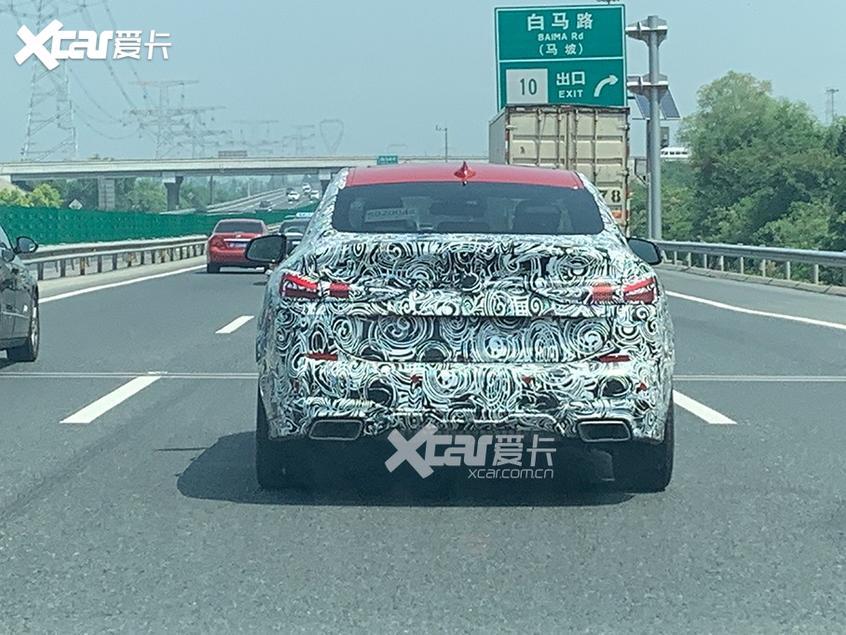 宝马2系Gran Coupe国内谍照 将年内上市