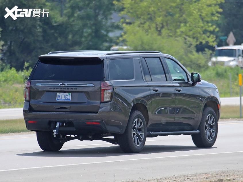 雪佛兰Suburban Z71曝光 预计年底发售