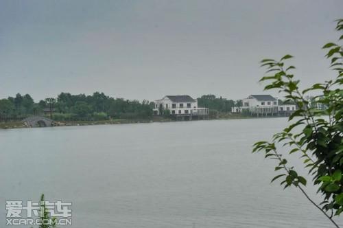 斯柯达4 2绿色骑行九江八里湖公园