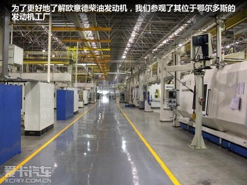 曲轴生产线,和2.0t发动机的总装线,曲轴生产线的自动化程度很高清图片