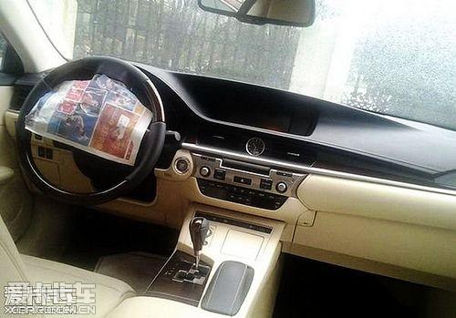 【全新雷克萨斯ES内饰】-全新雷克萨斯ES无伪照 或北京车展亮相图片