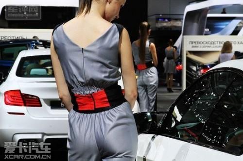2012年莫斯科车展 模特是车展绝对看点