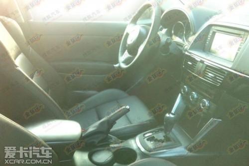 国产马自达CX-5车型谍照