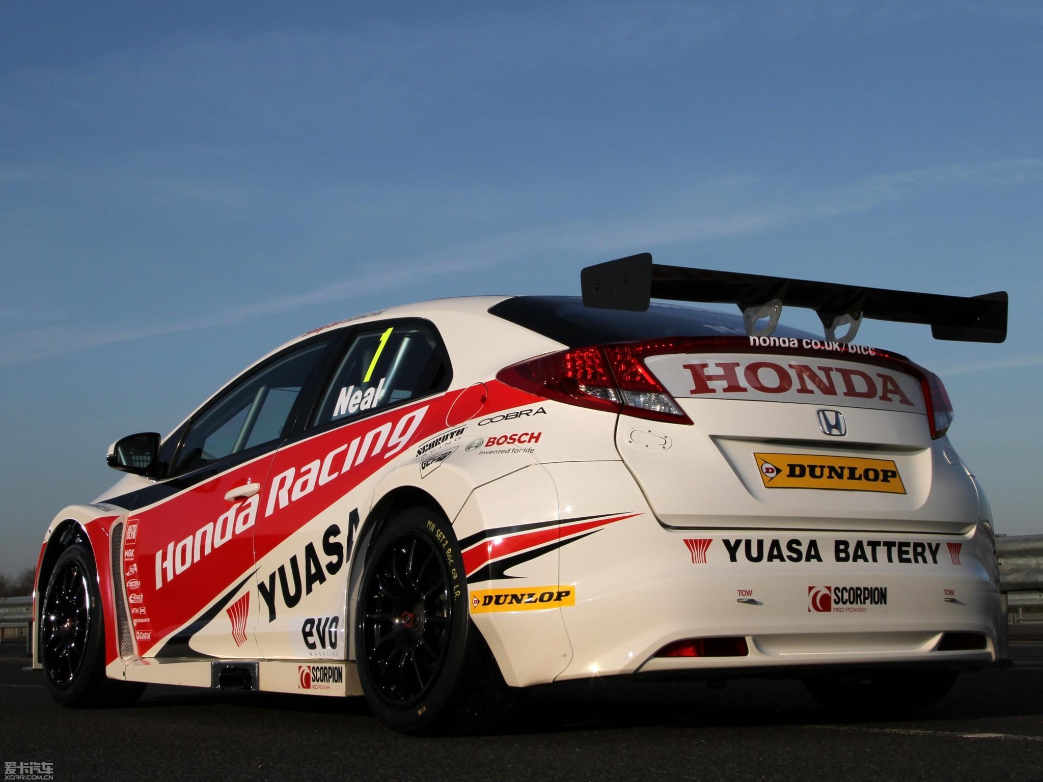 本田将于主场回归wtcc 赛车介绍 高清图片