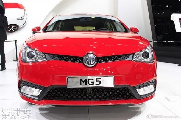 上汽MG5 1.5T车型上市