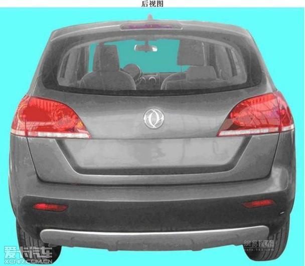 【之前曝光的东风风神SUV专利申报图】-风神首款SUV将明年上市 或高清图片