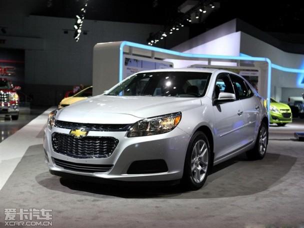 在洛杉矶车展上,雪佛兰发布了新款的迈锐宝,新款车型在外观高清图片