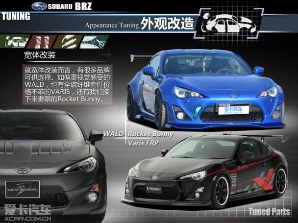 斯巴鲁brz xcar design改装实录 上 高清图片