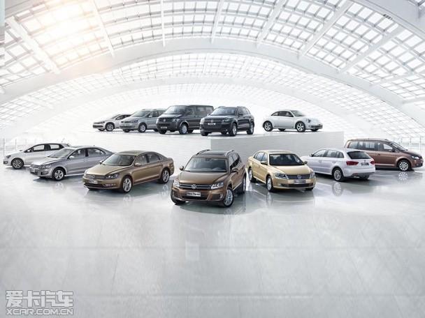 大众一家 全方位体验上海大众城市展厅高清图片
